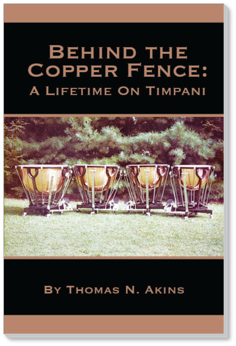 Behind The Copper Fence - A Lifetime On Timpani book cover